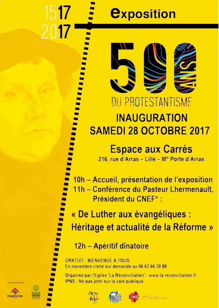 Expo 500 ans du protestantisme